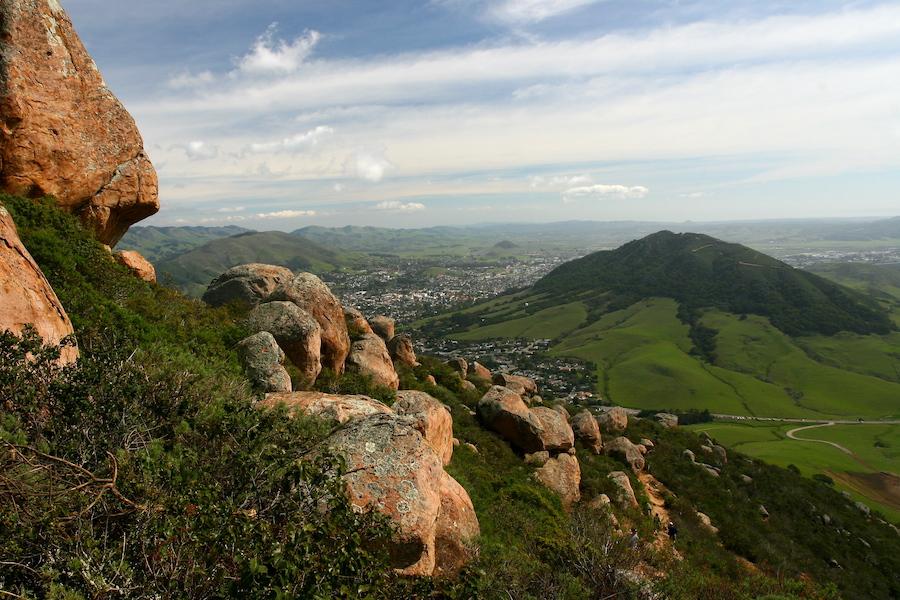 Bishop Peak in San Luis Obispo, California.