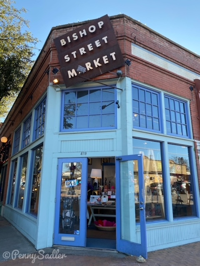 Bishop Street Market in Dallas, Texas.