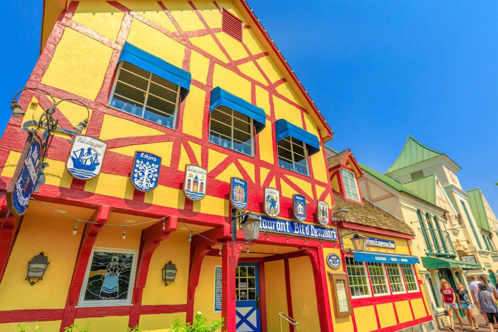Bit O' Denmark, a restaurant in Solvang.