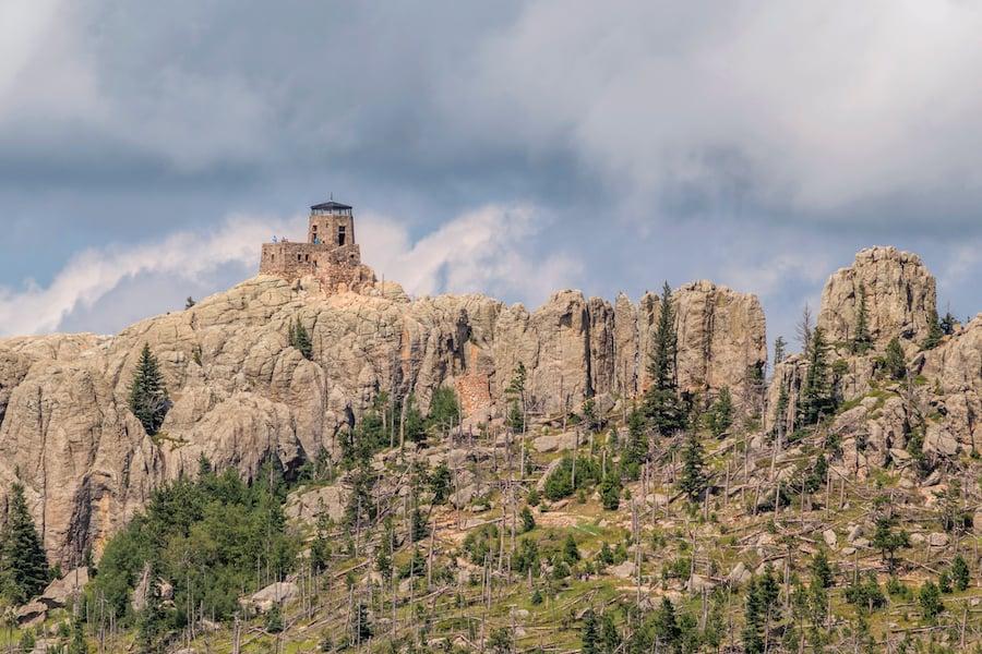 Black Elk Peak in the Black Hills of South Dakota.