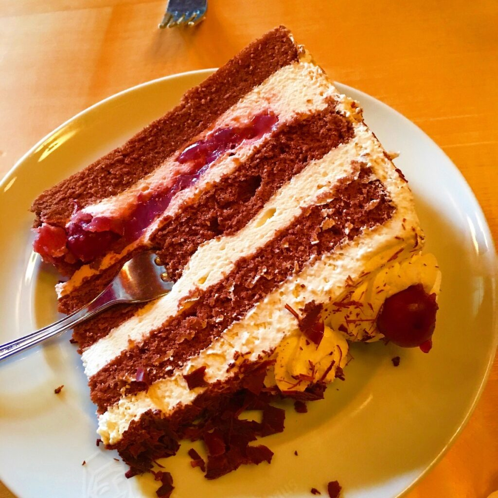 Black Forest Cake in Germany.
