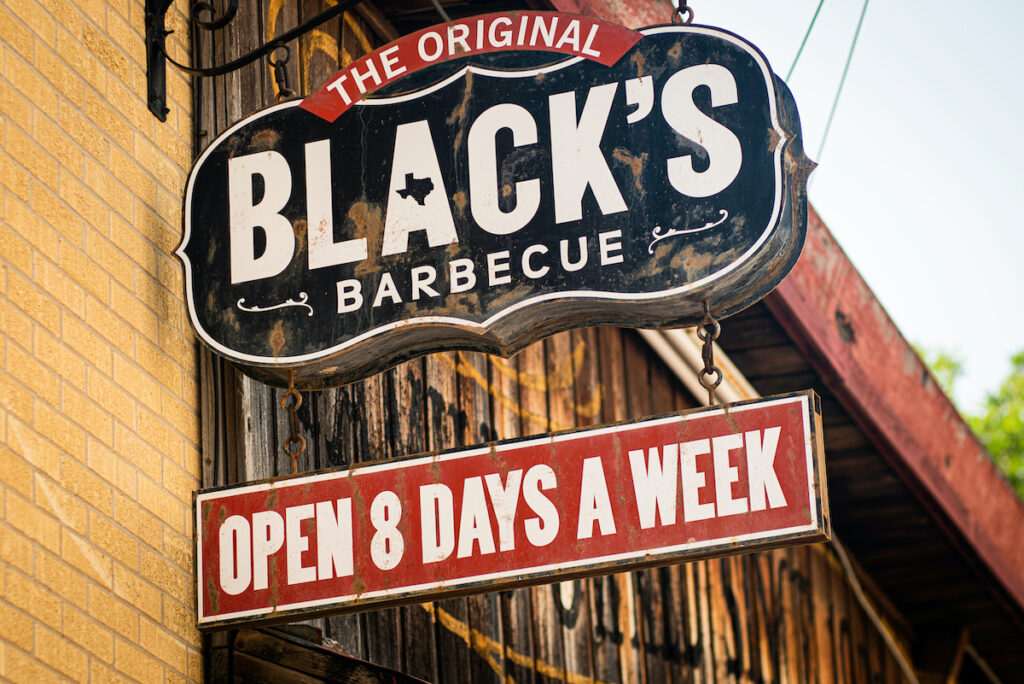 Black's Barbecue in Lockhart, Texas.