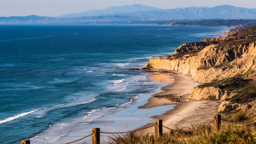 Black's Beach in La Jolla, California