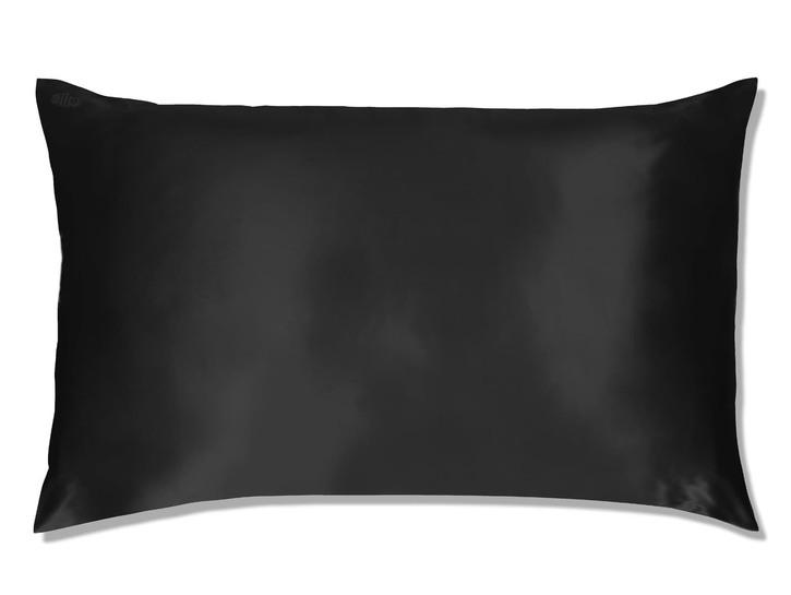 black Slipsilk Pure Silk pillowcase