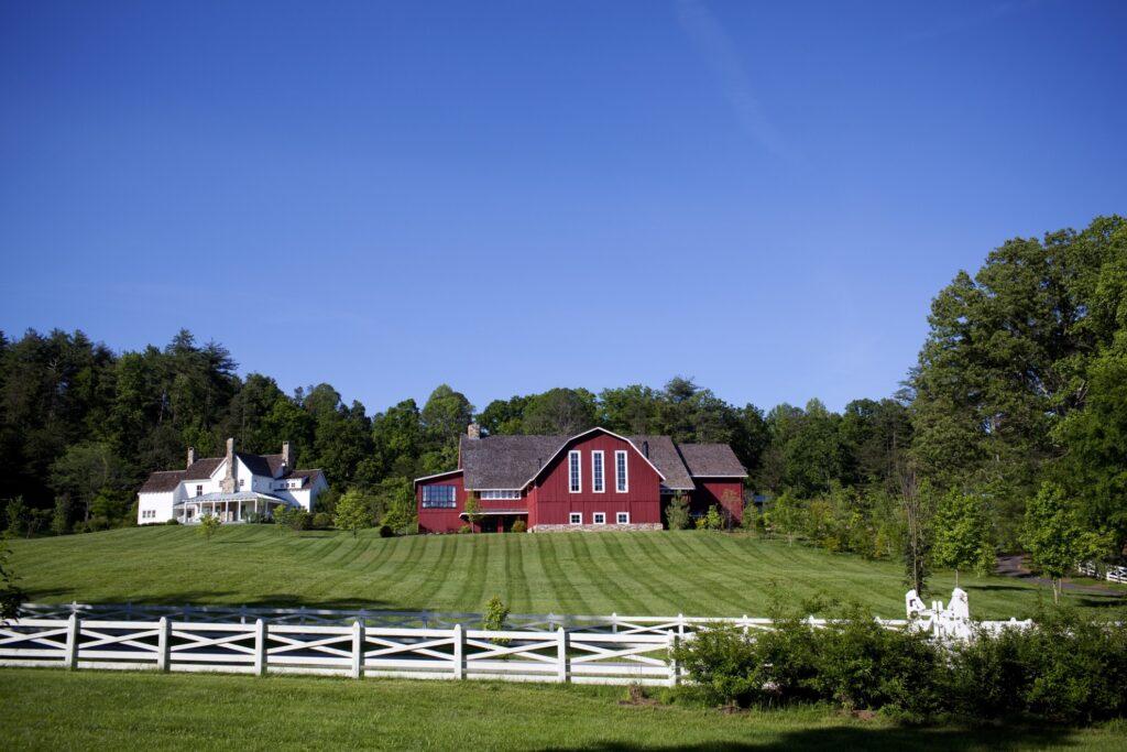 Blackberry Farm on a summer day.