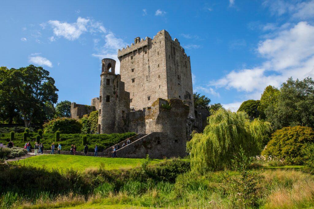 Blarney Castle in County Cork, Ireland.