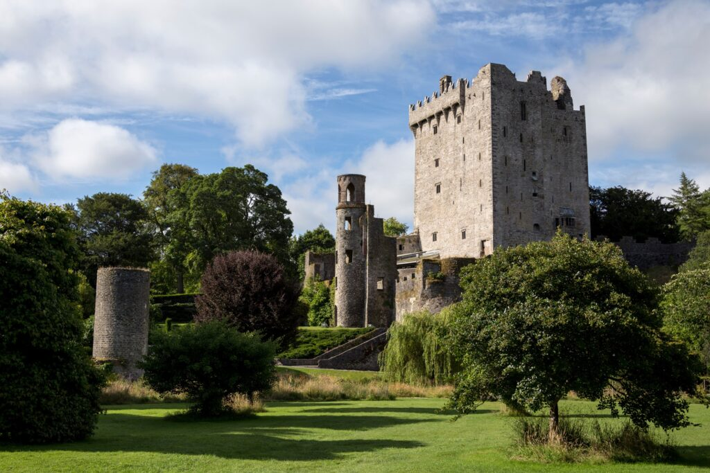 Blarney Castle in Ireland.