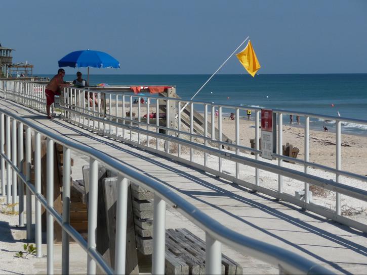 Boardwalk in Vero Beach, Florida