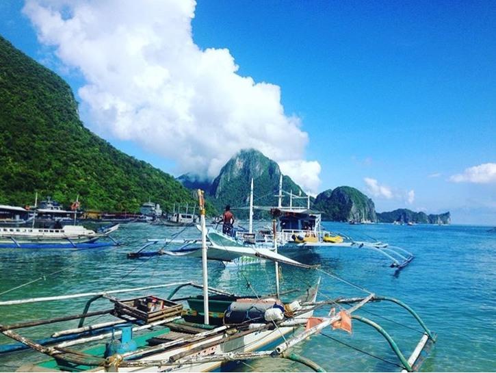 Boats, El Nido, Philippines