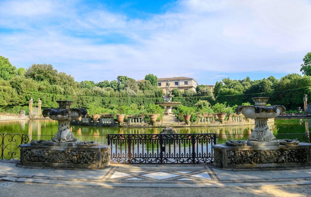 Boboli Gardens in Florence, Italy.