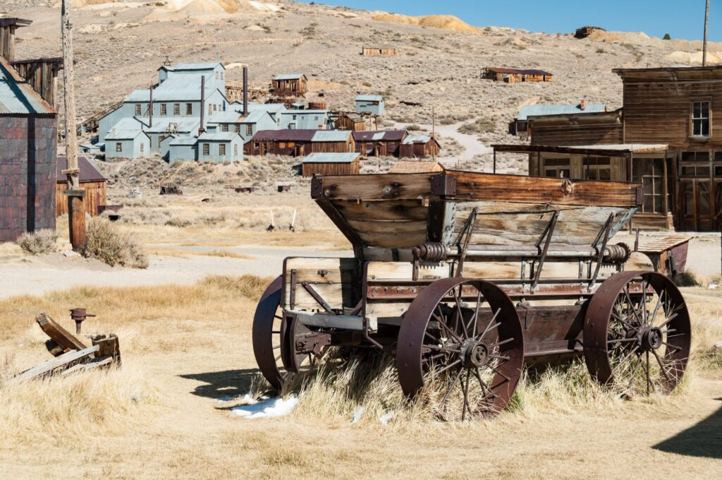 Bodie State Historical Park in California.