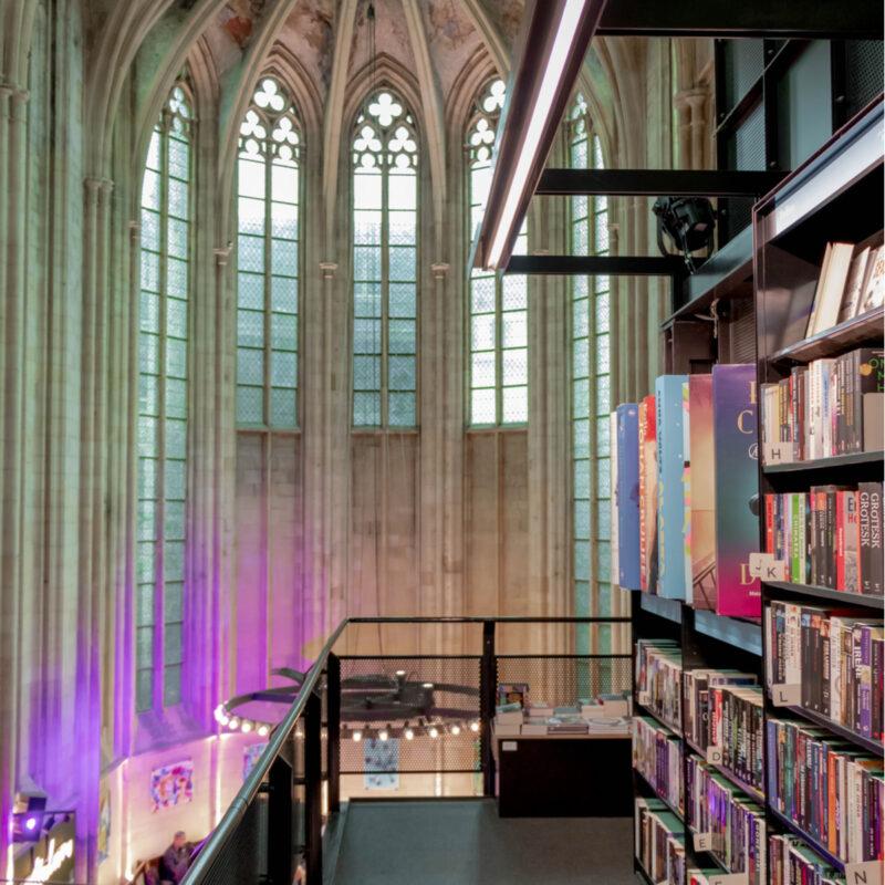 Boekhandel Dominicanen, An ancient Dominican Church converted into a bookstore.