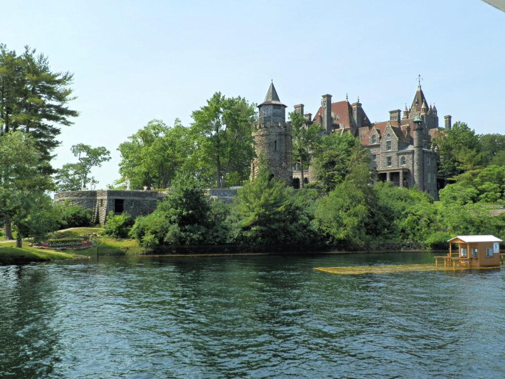 Boldt Castle in the Thousand Islands.