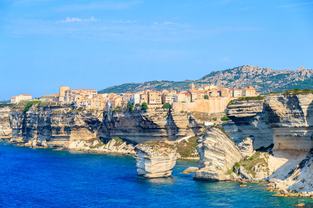 Bonifacio, Corsica.