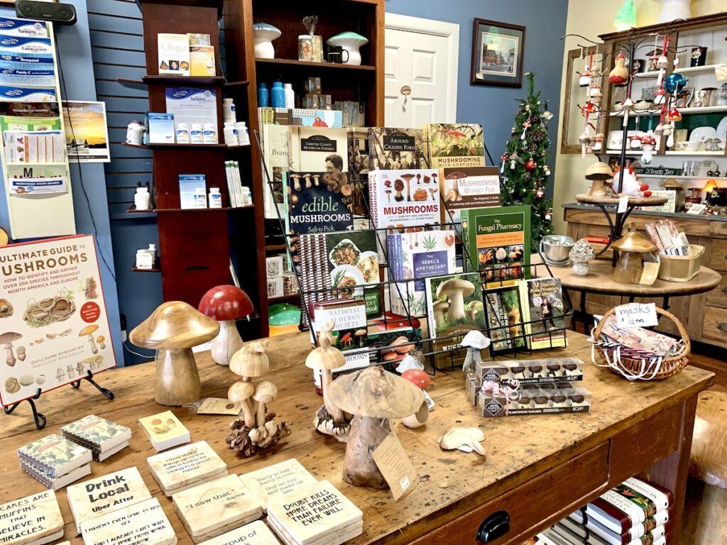 Books, The Mushroom Cap, Kennett Square.