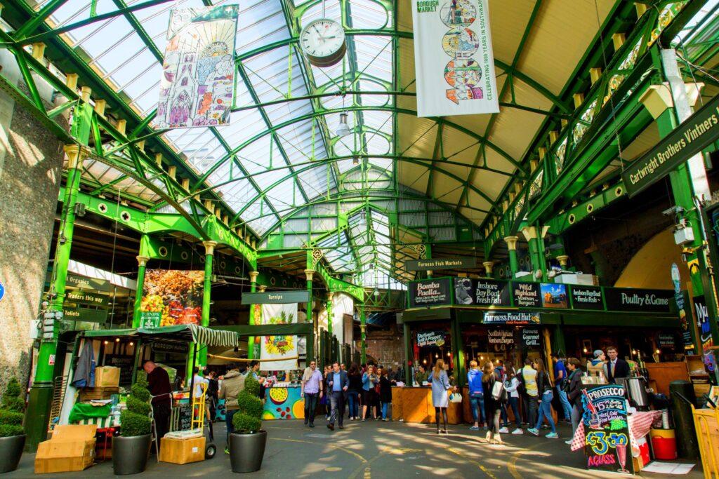 Borough Market in London.