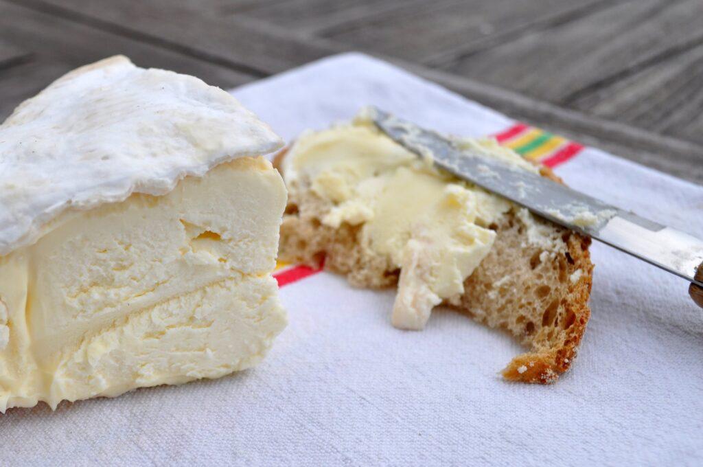 Boursualt cheese from Paris.