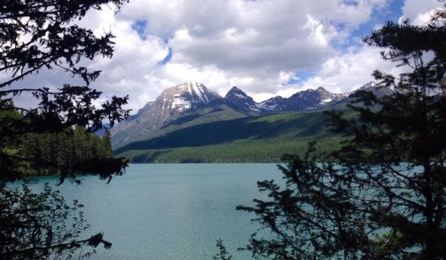 Bowman Lake in Glacier National Park.