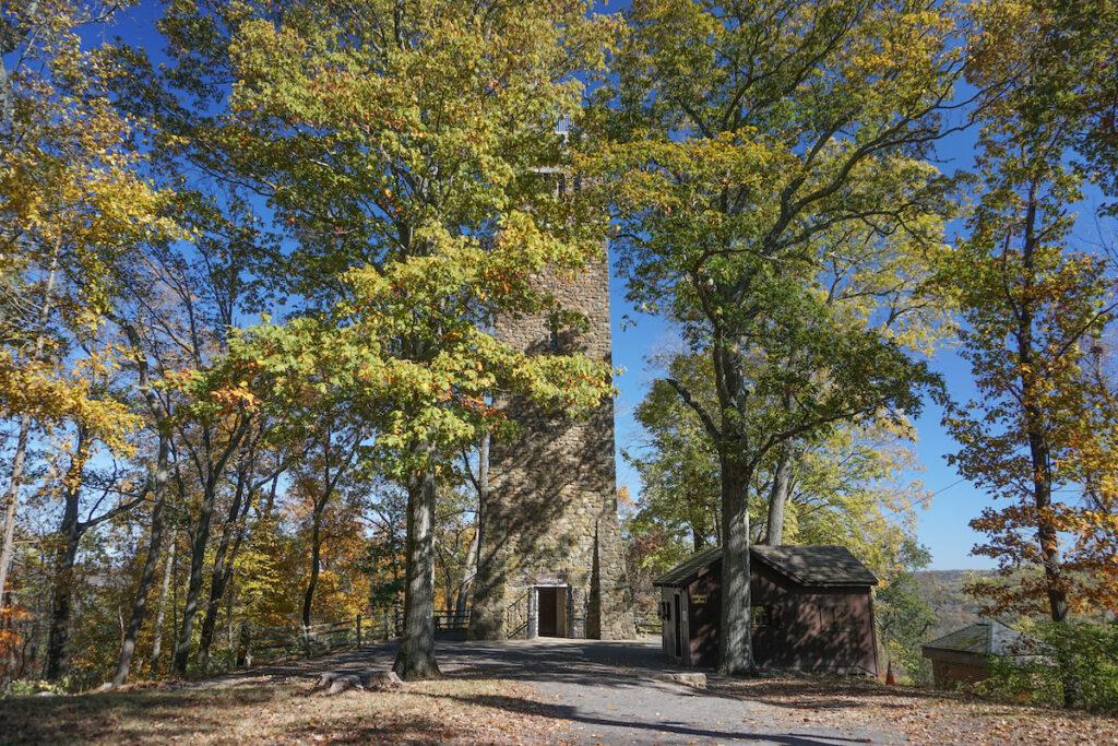 Bowman's Hill Tower at Washington Crossing Historic Park.