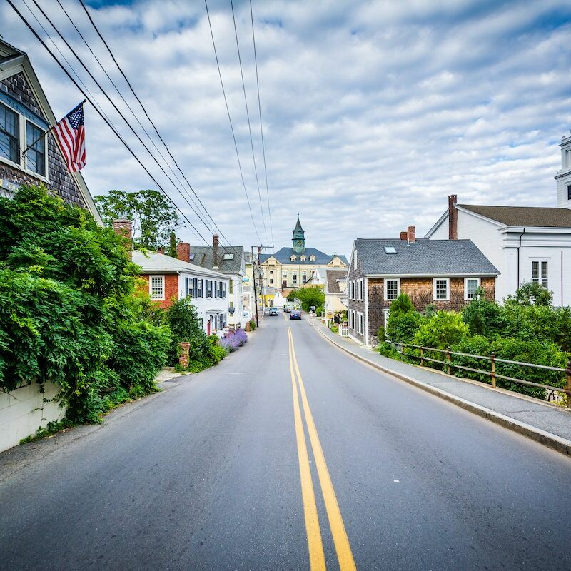 Bradford Street in downtown Cape Cod.
