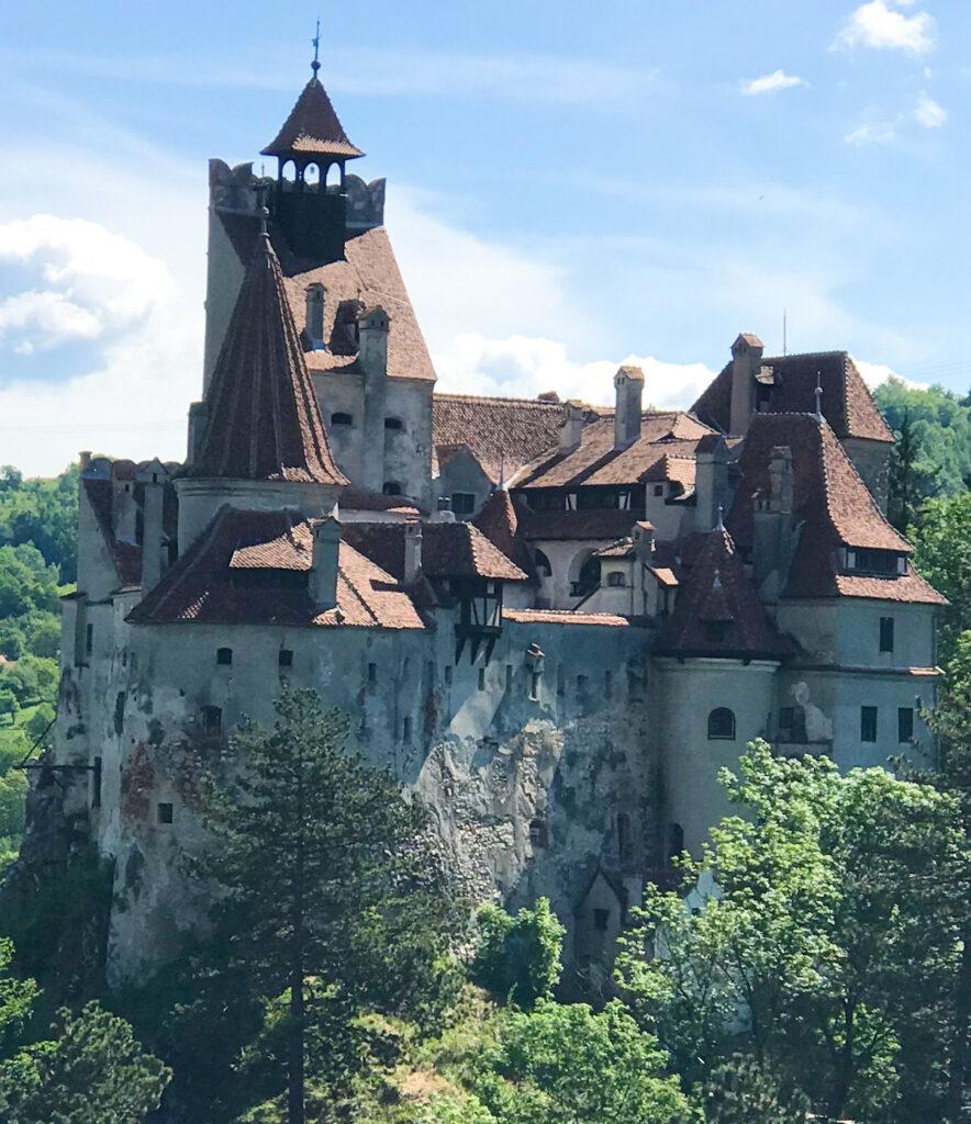 Bran Castle in Brasov, Romania.