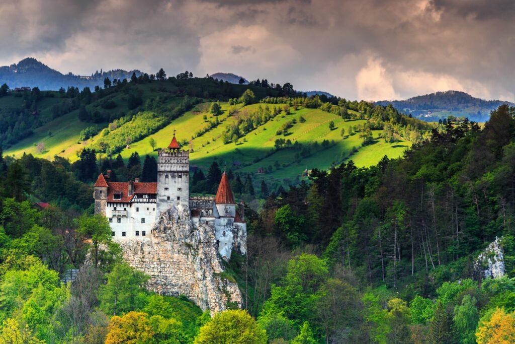 Bran Castle in Transylvania, Romania.