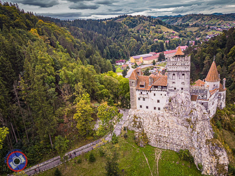 """Bran Castle made famous by Bram Stoker's """"Count Dracula."""""""