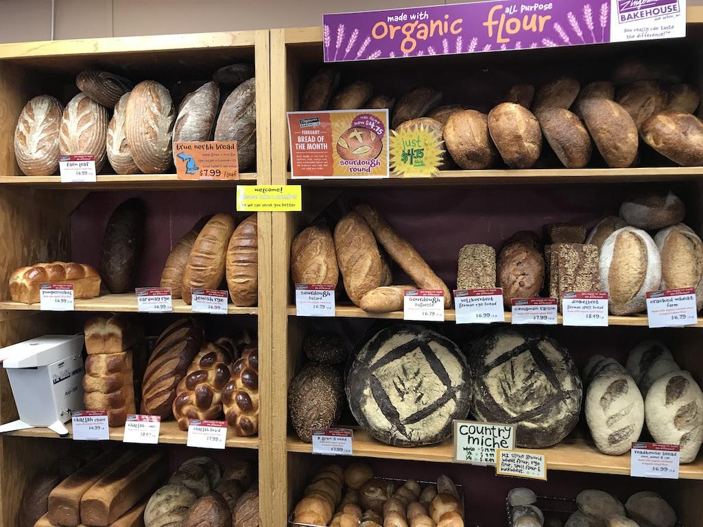 Bread from Zingernan's Bakehouse.