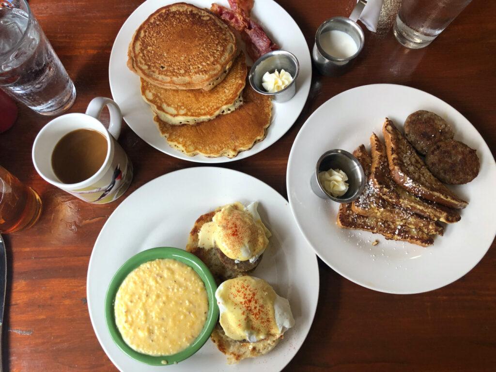 Breakfast courtesy of Market at Main.