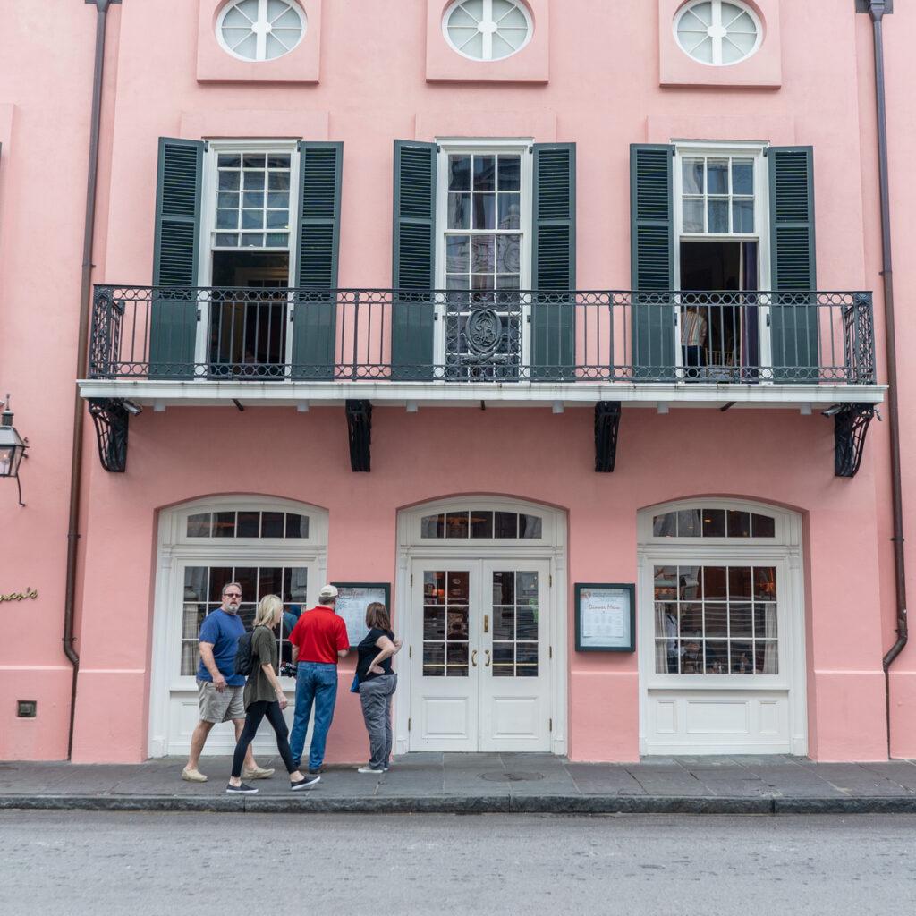 Brennan's Restaurant in New Orleans.