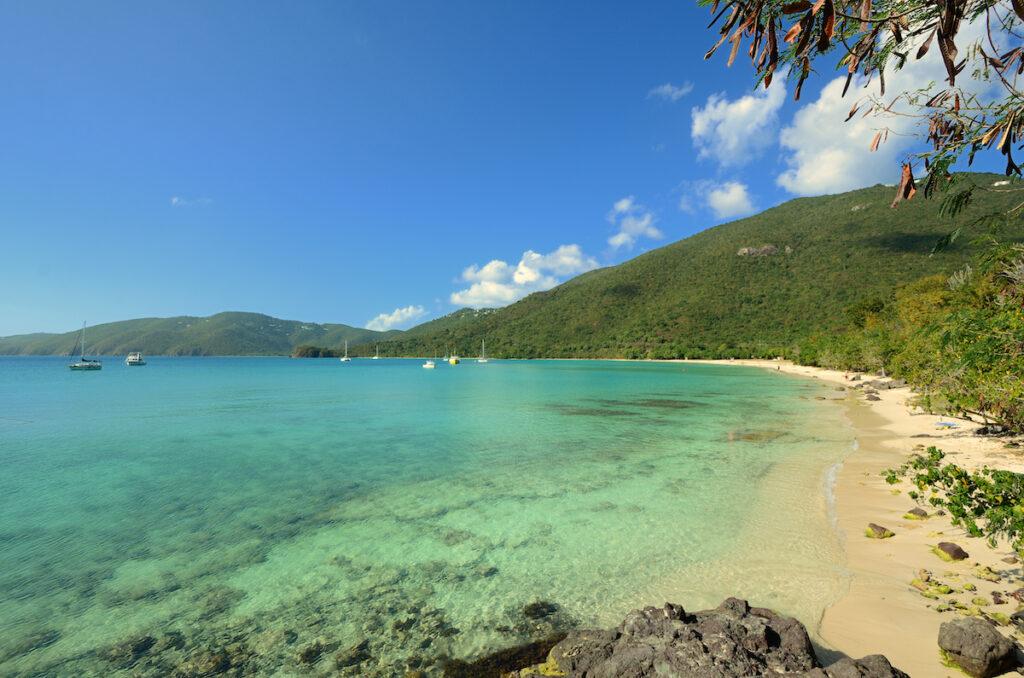 Brewer's Bay Beach in Tortola.