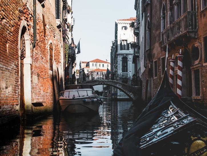 Bridge over Venice canal