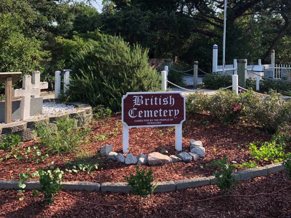 British Cemetery, Ocracoke, North Carolina.