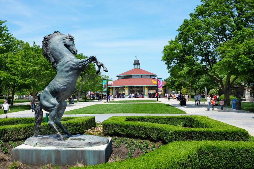 Brookfield Zoo in Illinois.