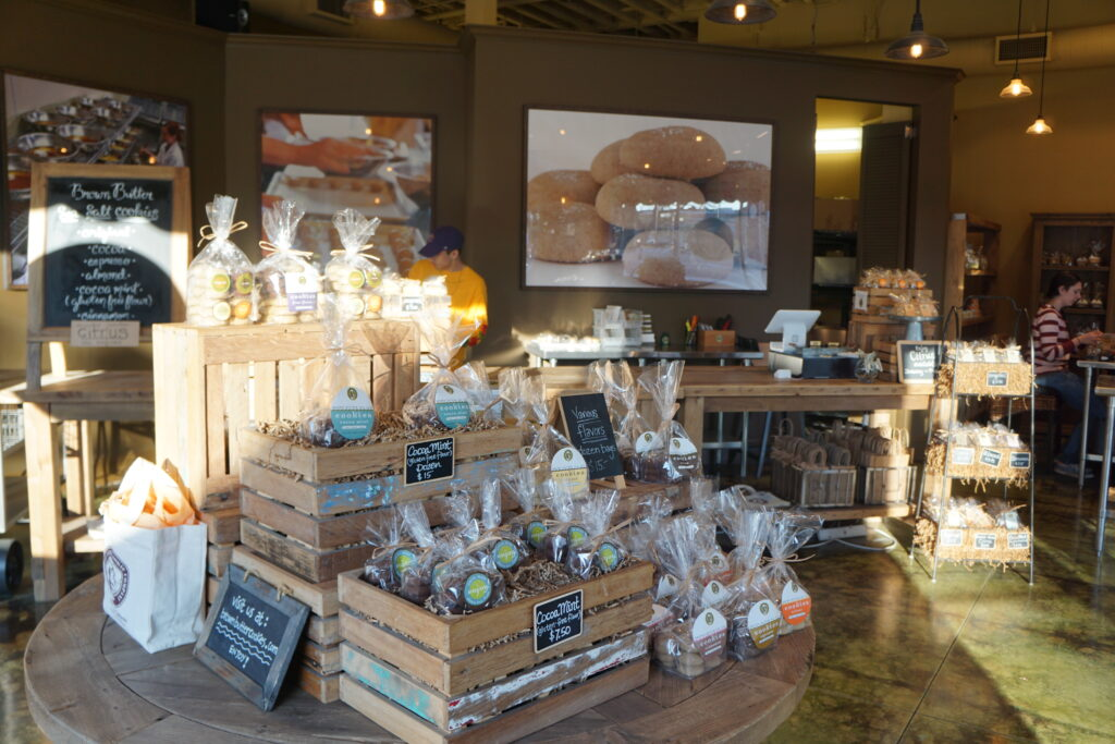 Brown Butter Cookie Company in Paso Robles.
