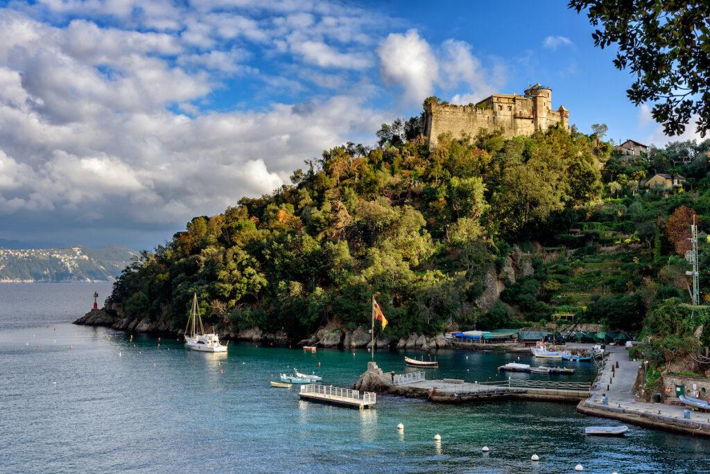 Brown's Castle in Portofino, Italy.
