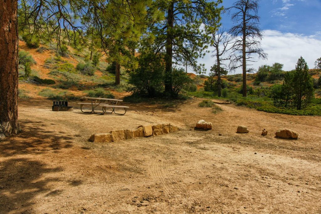 Bryce Canyon's North Campground.