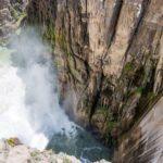 Buffalo Bill Dam in Cody, Wyoming.