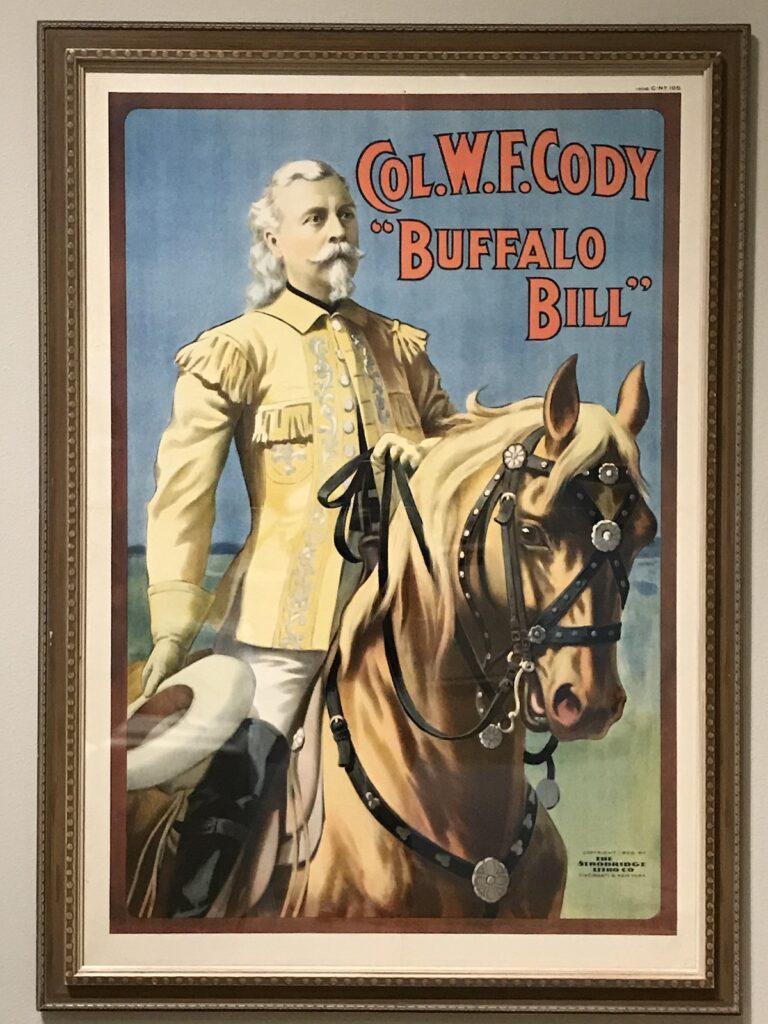 Buffalo Bill poster from the Buffalo Bill Center of the West Museum.