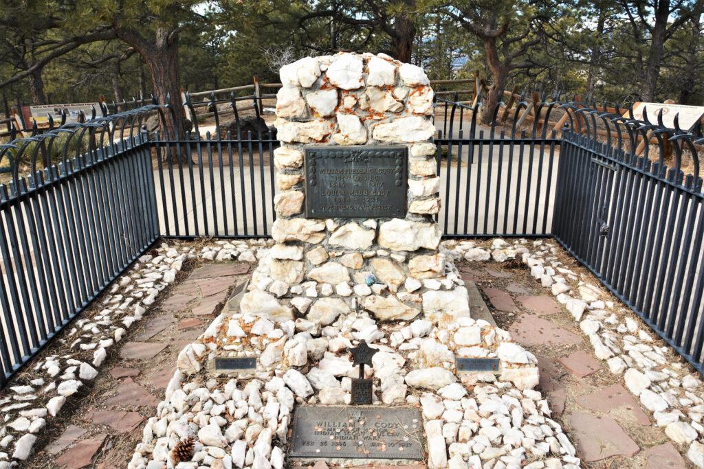 Buffalo Bill's grave in Golden, Colorado.