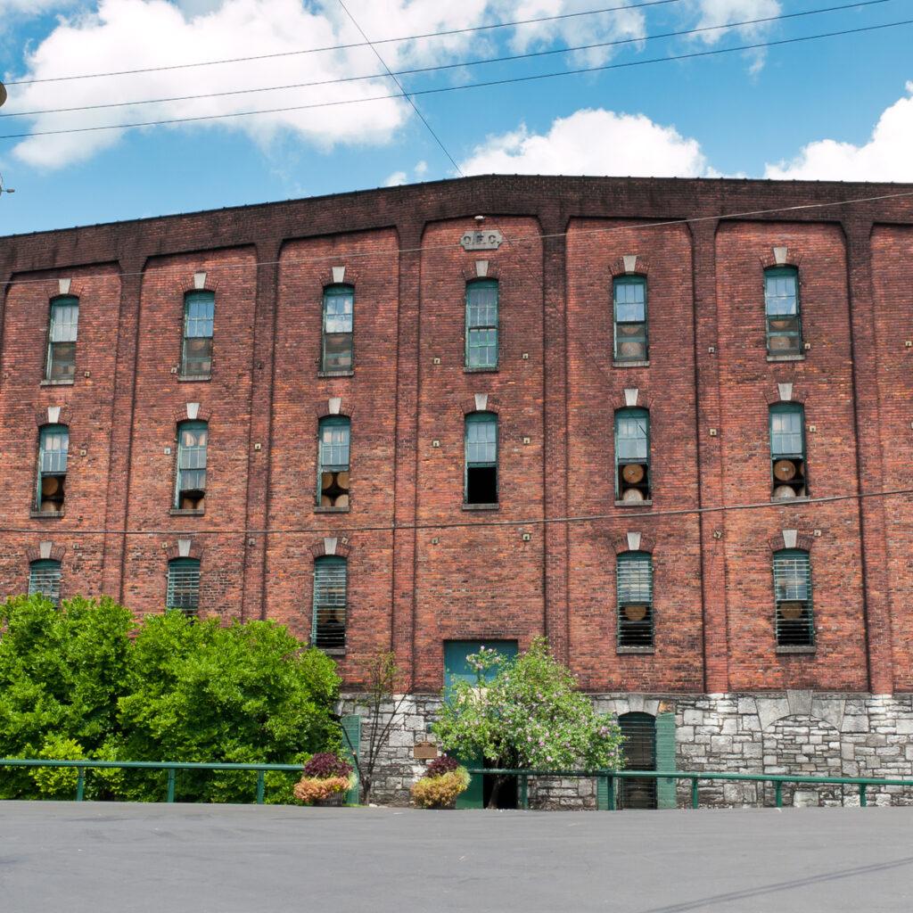 Buffalo Trace distillery in Frankfort.