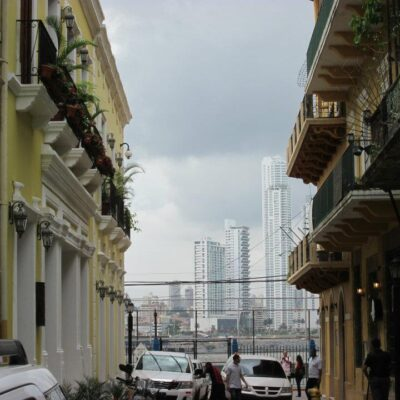 Buildings in Panama City.