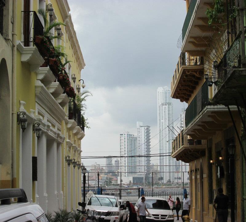 Buildings in Panama City.
