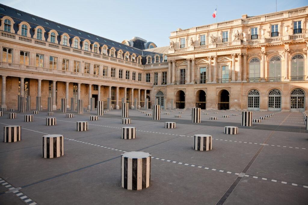 Buren Columns at Palais Royal.