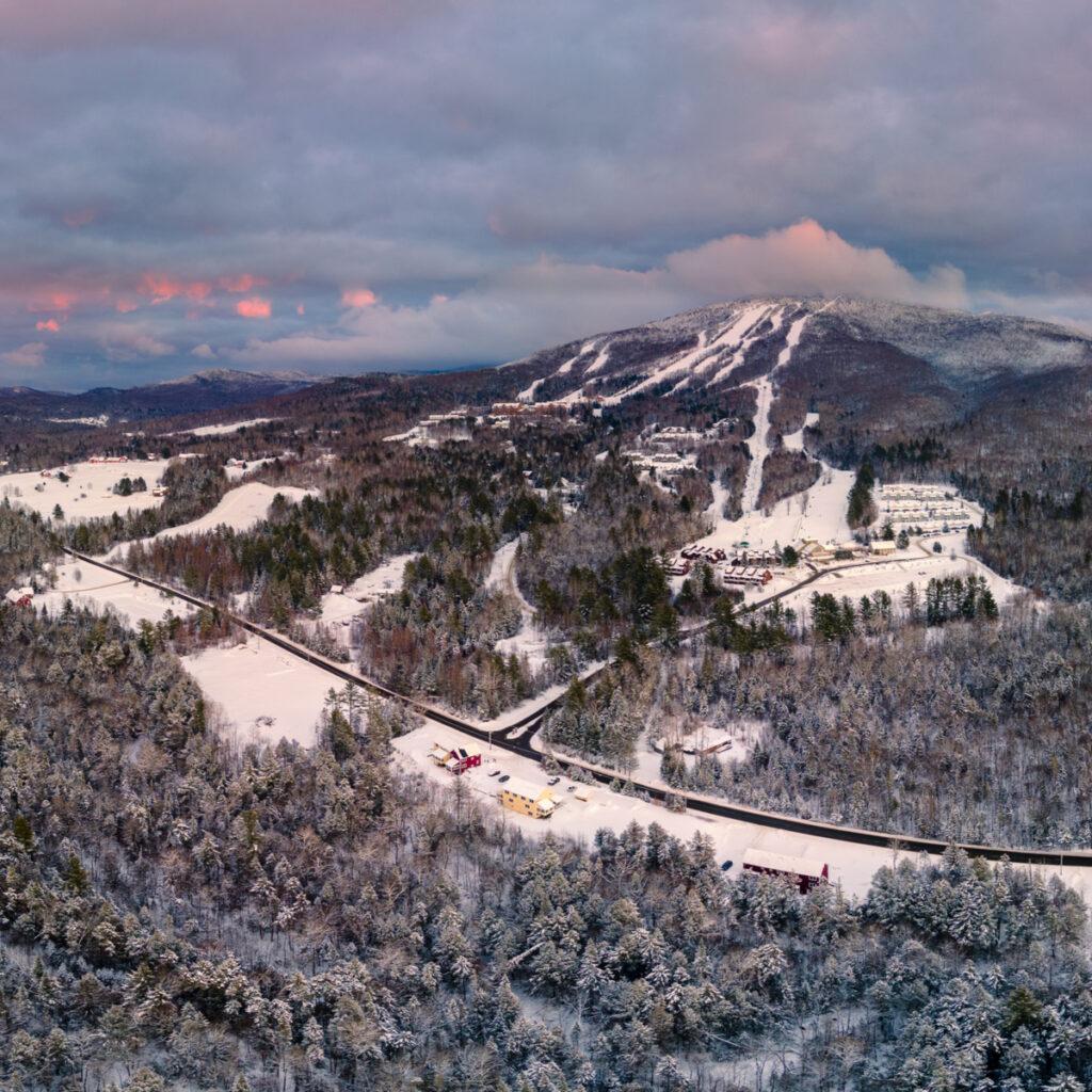 Burke Mountain in East Burke, Vermont.