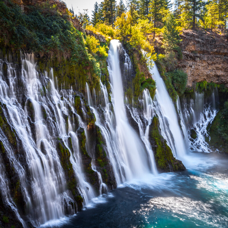 Burney Falls in Northern California.