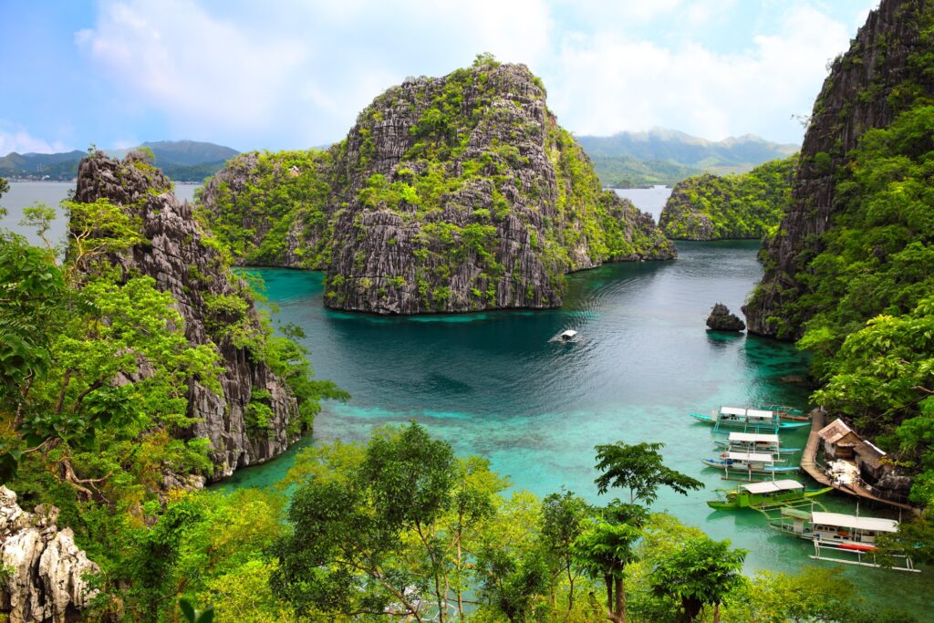 Busuanga Island in the Philippines.
