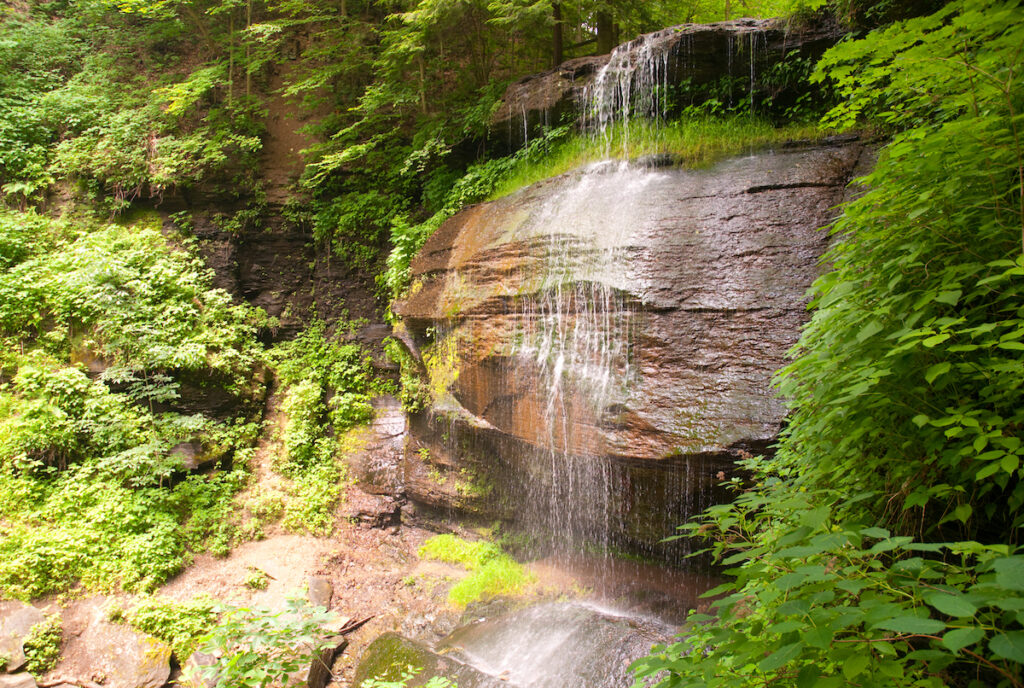 Buttermilk Falls in Pennsylvania.