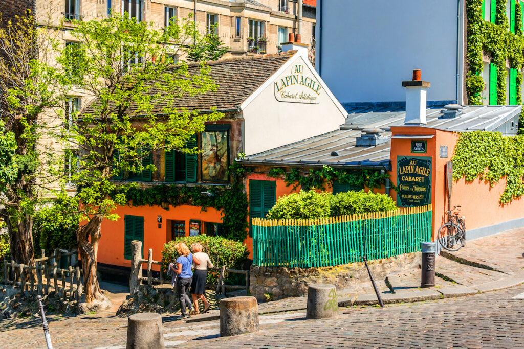 Cabaret Au Lapin Agile in Montmartre.