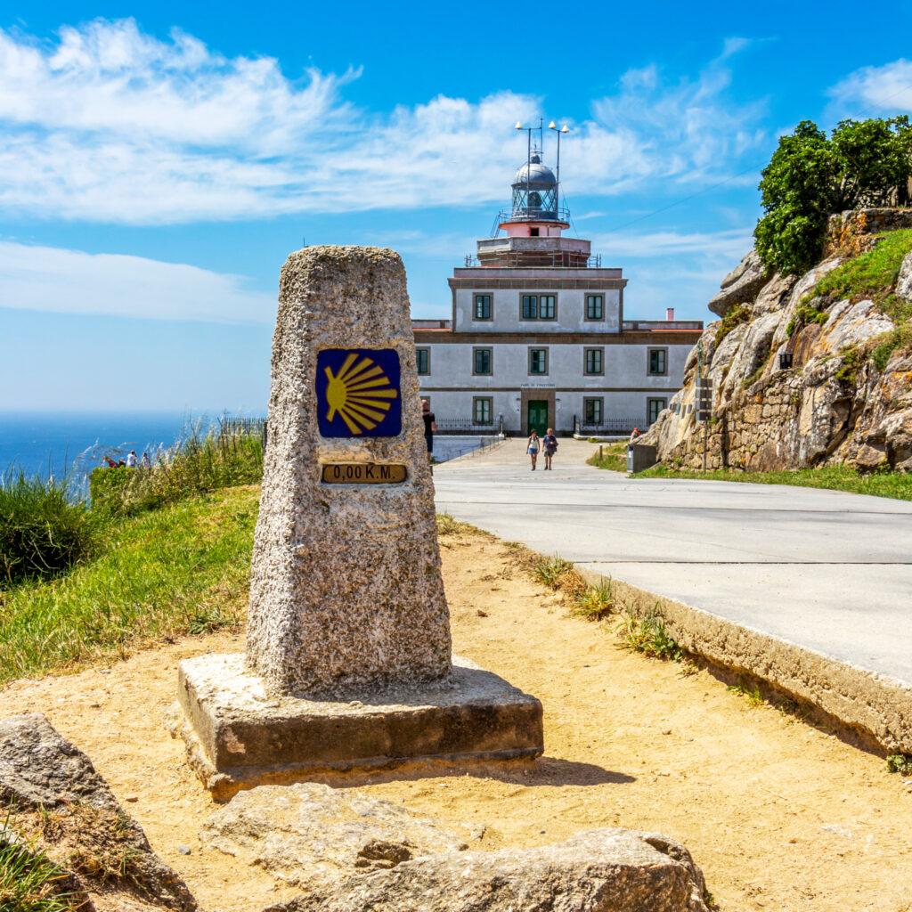 Cabo Fisterra in Galicia, Spain.
